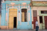 Stock Photo of architecture cuba colors