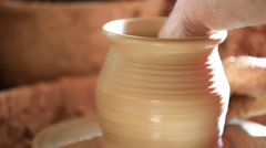 Stock Video Footage of Pottery