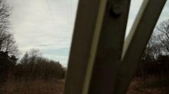 Power pylon 1 Stock Footage