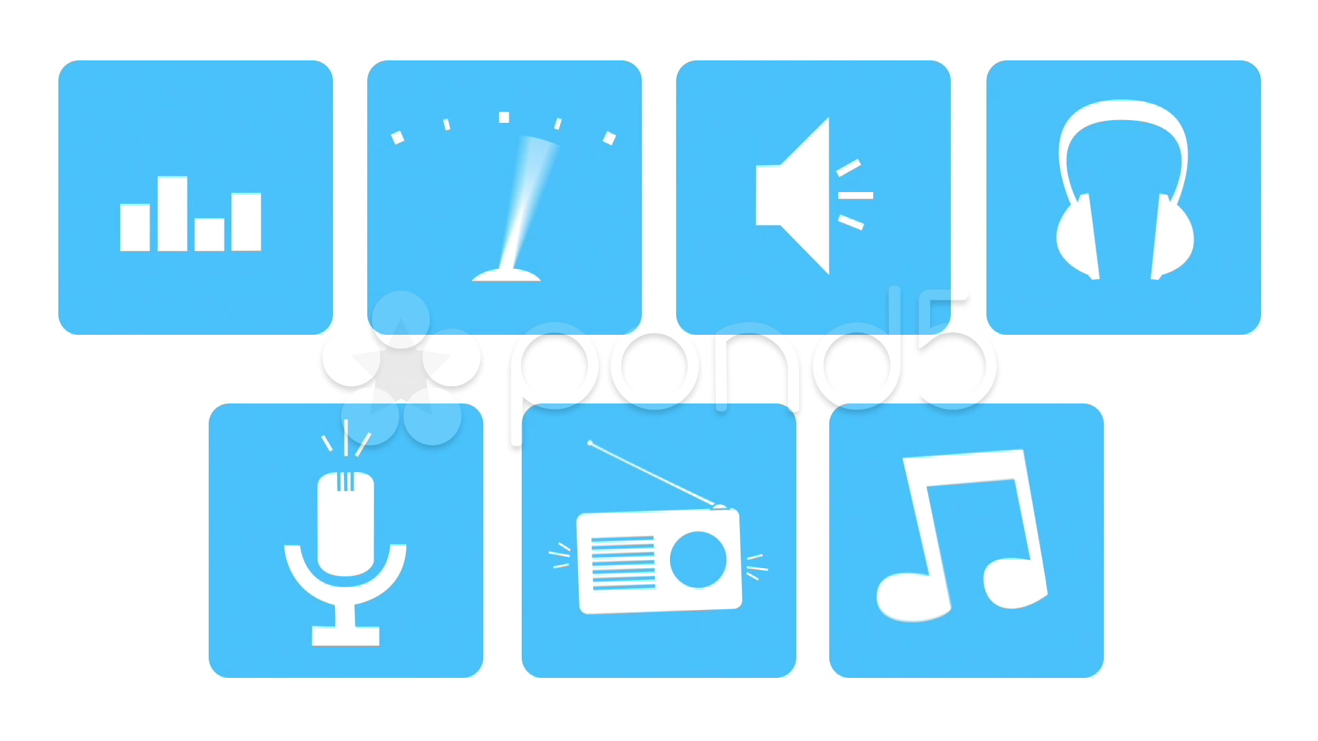 After Effects Project - Pond5 100 Animated Flat Loop Icons 33927409