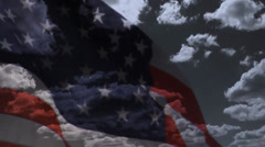 American Clouds Stock Footage