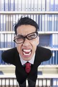 The furious boss Stock Photos