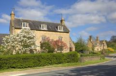 Cotswold farmhouse Stock Photos