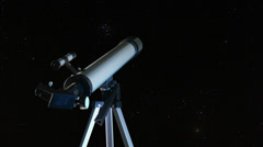 55 Timelapse of stars moving in night sky Stock Footage