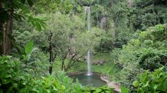 203 Katibawasan waterfalls, Camiguin island, Philippines Stock Footage