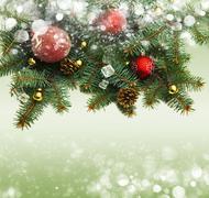 Stock Illustration of christmas background