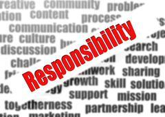 Responsibility - stock illustration