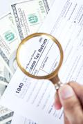 concept of tax audit - stock photo