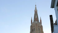Church of our Lady Bruges, Belgium Stock Footage