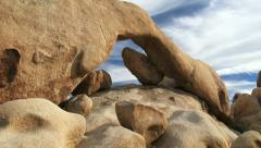 Arch Rock Stock Footage