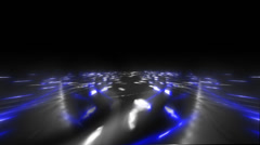Loop able File. Freeway. Color - blue. Mainstream. Stock Footage