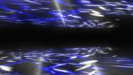 Stock Video Footage of Media background. Freeway. Color - blue.