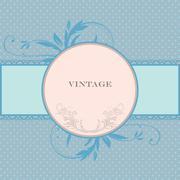 Vintage label Stock Illustration