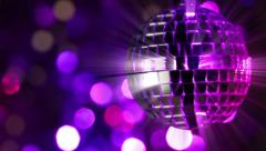 Light disco two. seamless loop Stock Footage