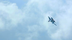 Aerobatics - stock footage