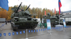 RUSSIA ARMS EXPO-2013 Stock Footage