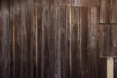 old grunge wood pattern - stock photo