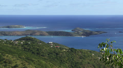 Necker Island Virgin Gorda Stock Footage