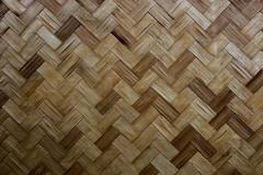 Stock Photo of texture of bamboo handicraft
