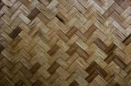 Stock Photo of texture of bamboo handicraft