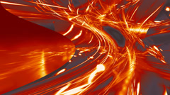 Media background. Freeway. Color - fire. Stock Footage