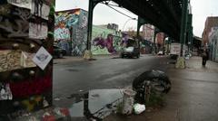 5 Pointz NYC Stock Footage