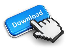 Internet downloading concept Stock Illustration