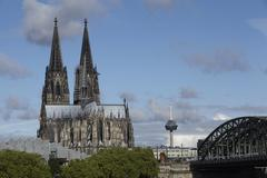 Stock Photo of cologne cathedral at daylight.