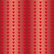 Stream of Hearts Stock Illustration