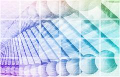 genetic testing - stock illustration