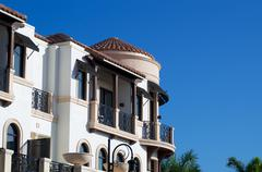 ornate florida architecture - stock photo