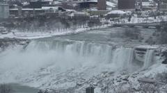 Bridal Veil Falls (Niagara Falls) -  U.S. side Stock Footage