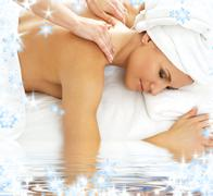 Stock Illustration of massage