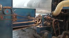 Mechanisms in motion Stock Footage