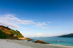 beautiful sea at tropical island, koh lipe - stock photo