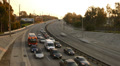 Highway Traffic 12 Tilt Down Timelapse Highway Sunset Footage