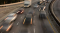Highway Traffic 16 Zoom In Timelapse Highway Sunset Footage