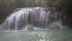 Erawan Waterfall Stock Footage