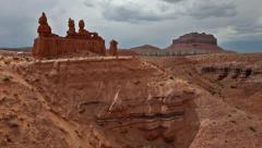 moab utah american southwest canyonlands 14 - stock footage