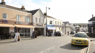 Stock Video Footage of street in a small cornish town