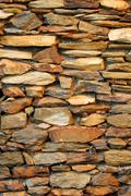 Stone feature wall Stock Photos