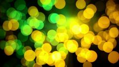 Color spots Stock Footage