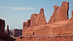 Moab utah american southwest canyonlands 13 Stock Footage