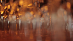 Glass Reflection Stock Footage