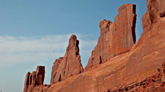 Moab utah arches national park canyonlands 10 Stock Footage
