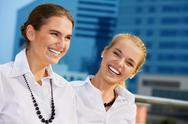 Stock Photo of happy businesswomen