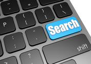 Stock Illustration of Search with black keyboard