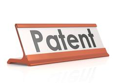 Stock Illustration of Patent table tag