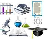 Stock Illustration of science and education icons