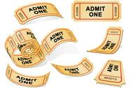 Stock Illustration of tickets